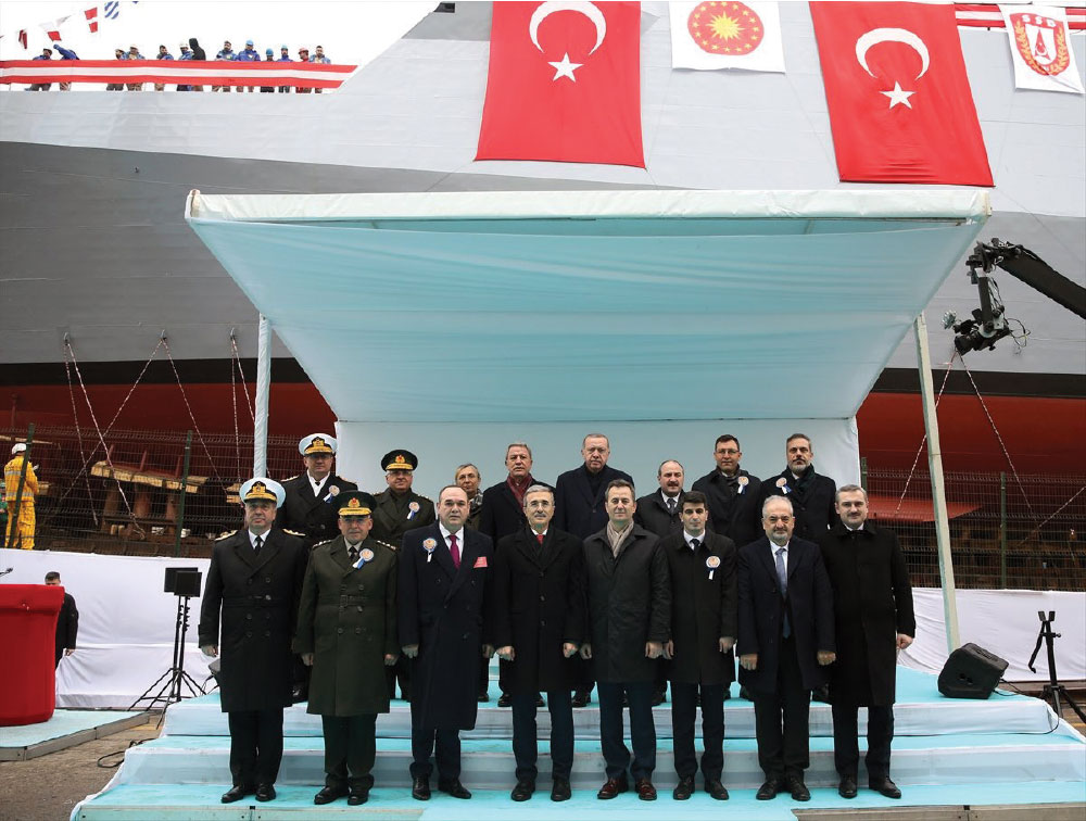 A-591'Ufuk' - Test and Training Ship Launched