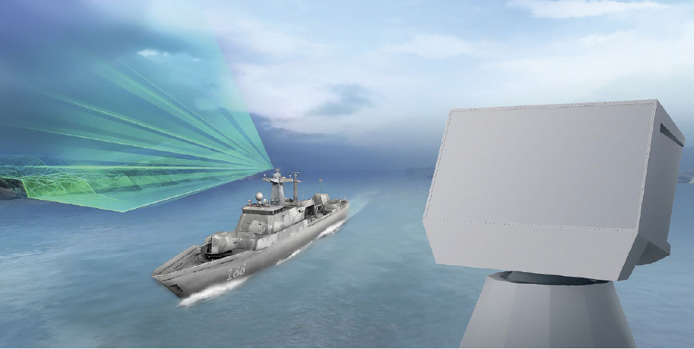 HENSOLDT to Supply Naval Radar for German Corvettes