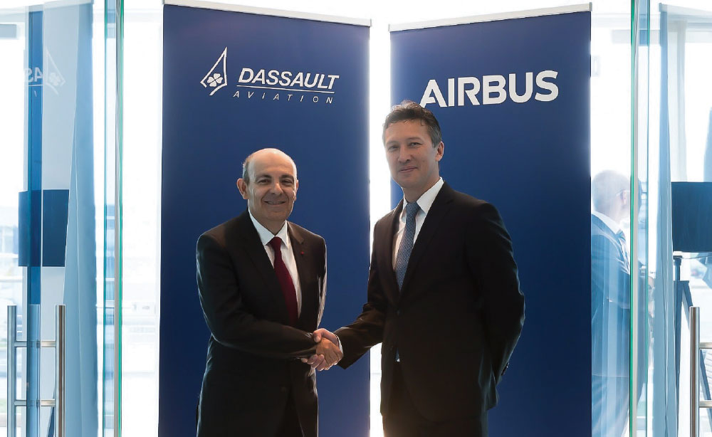 Airbus and Dassault Aviation have Signed a Definitive Agreement to the Joint Concept Study Contract for Future Combat Air System
