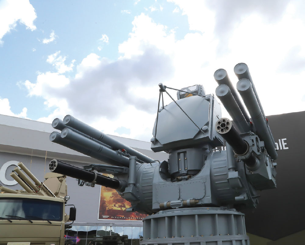 Russia will Display the PANTSIR-ME Shipborne Air-Defence Missile and Artillery System for the First Time at IDEX 2019