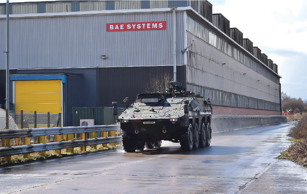 Rheinmetall and BAE Systems to Create a UK Based Land Systems Joint Venture