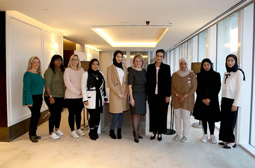 Boeing'in Katar Hava Kuvvetleri`nde Görevli 7 Kadın Subaya Verdiği Liderlik Eğitimine Türkiye Ev Sahipliği Yaptı