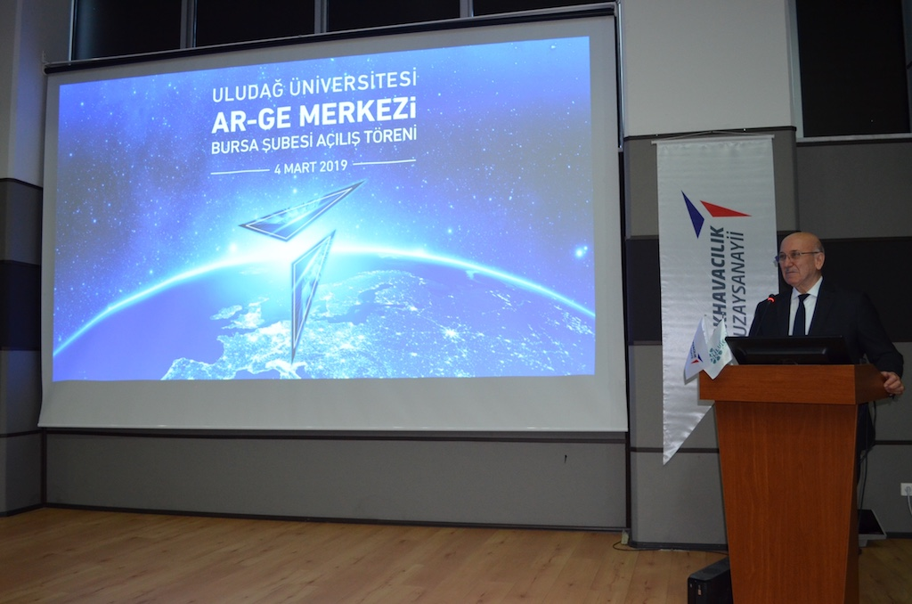 Türk Havacılık Ve Uzay Sanayii Bursa'da AR-GE Merkezi Açtı