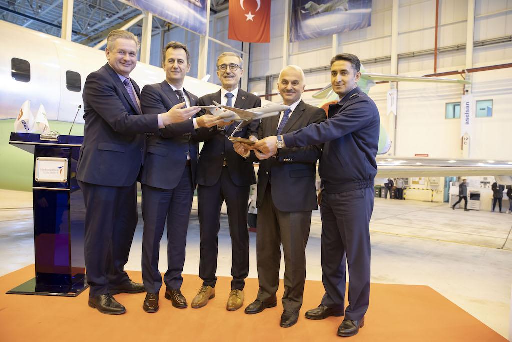 Elektronik Harp Sistemi Kurulucak Uçaklar Türkiye`ye Geldi