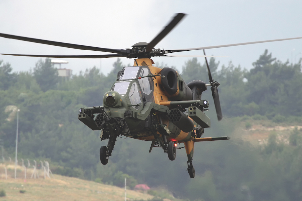 T129 ATAK IS FLYING OVER BRAZIL FOR THE FIRST TIME IN LATIN AMERICA