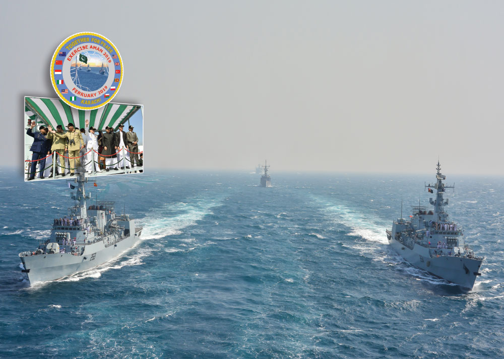 """Together for Peace"" AMAN-19 Multinational Naval Exercise & Pakistan – Turkey Defence Cooperation"