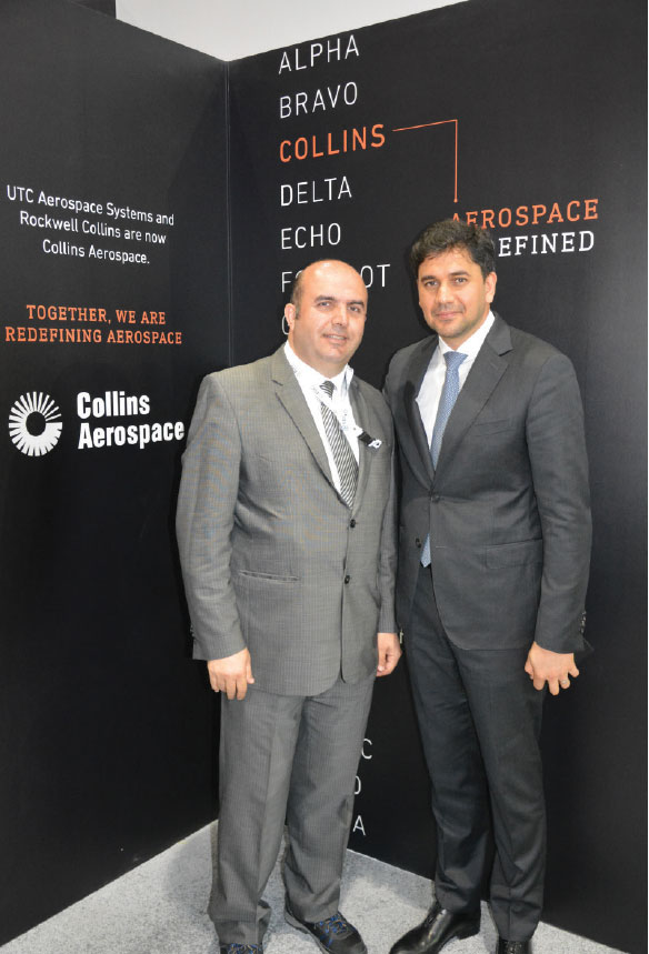 "Collins Aerospace; ""We are Committed to Our Customers and Partners in Turkey"""