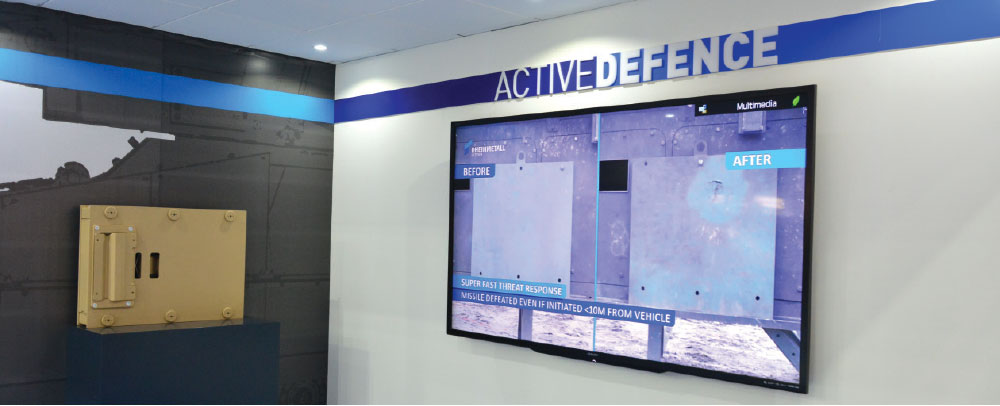 Rheinmetall Showcases Hybrid Protection Module at IDEX 2019