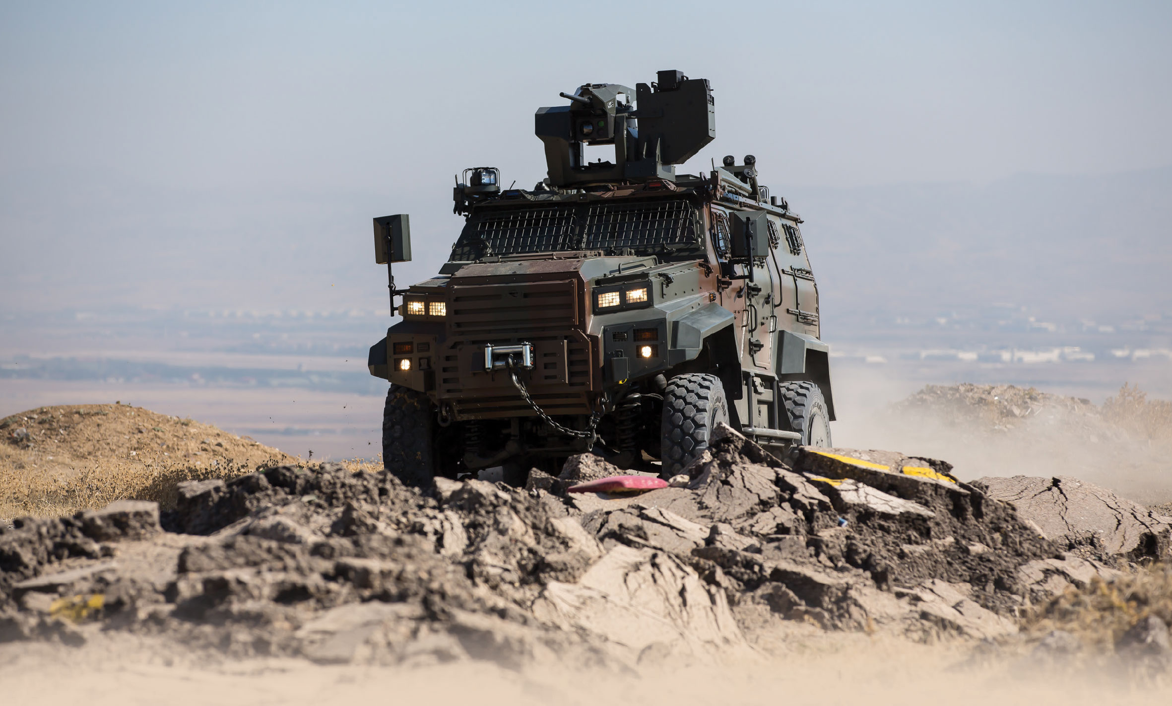 Nurol Makina to Demonstrate Newest and Combat Proven Vehicles at IDEF '19