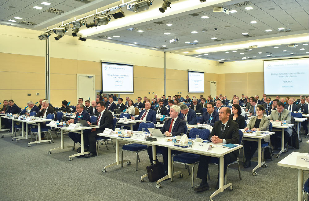 TOBB Defence Industry Assembly Gathered in Ankara on April 9th