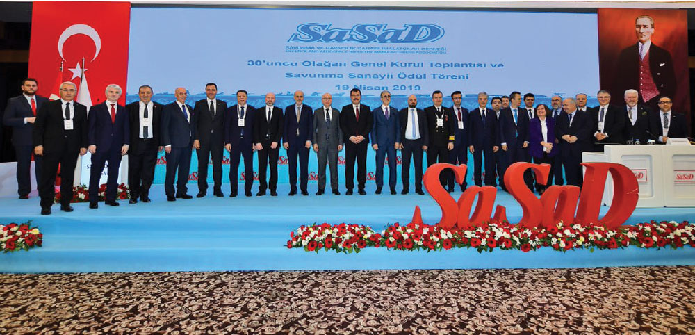SASAD's 30th Ordinary Meeting of the General Assembly and Defence Industry Award Ceremony Held in Ankara