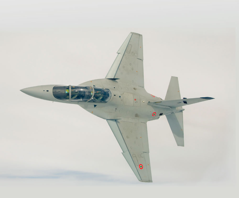 International Flight Training School: First Two M-346 Aircraft Landed into the Italian Air Force's 61st Wing Base