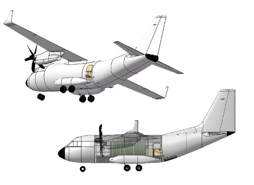 Leonardo Eyes Enhanced Firefighting Configuration for its C-27J Aircraft to Expand Multirole Capabilities