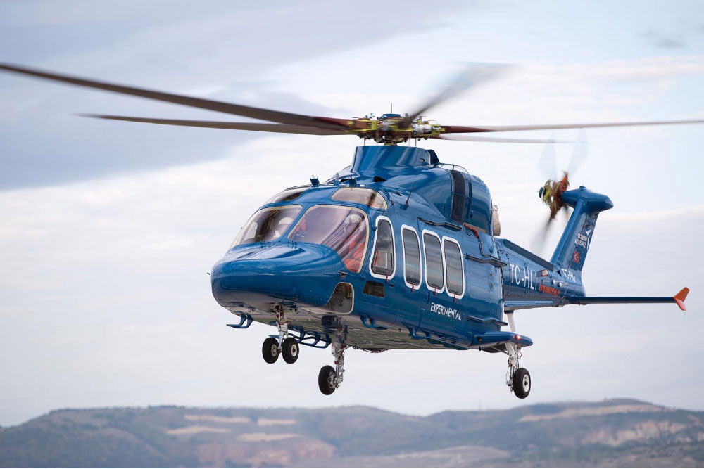 Original Power System TS1400 Turboshaft Engine Developed by TEI's Seasoned Team of Experts for the T625 Helicopter