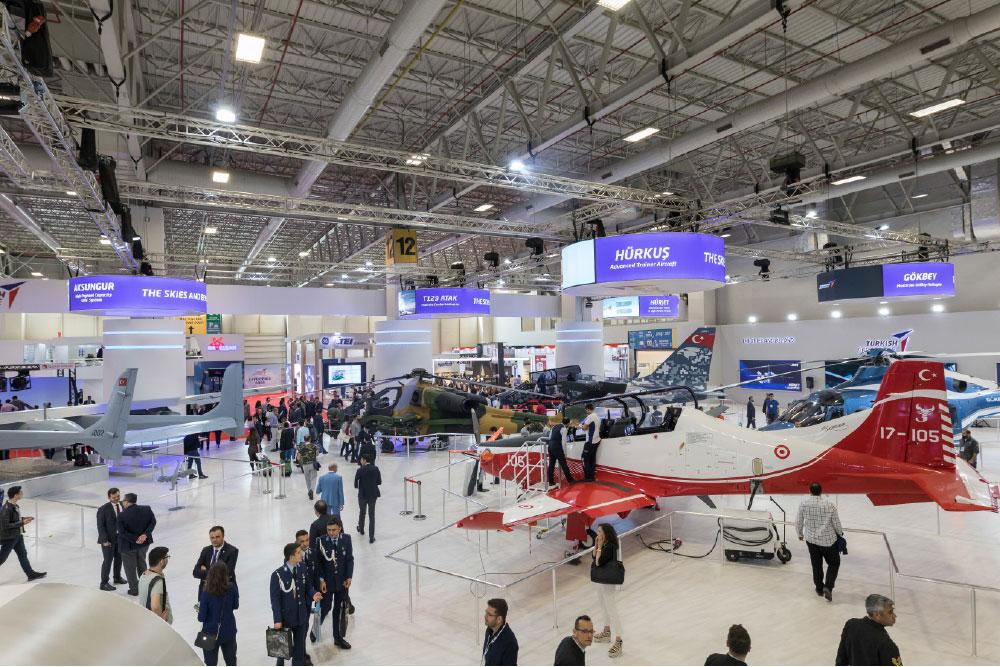 Turkish Aerospace's Unique Platforms were on Stage at IDEF'19