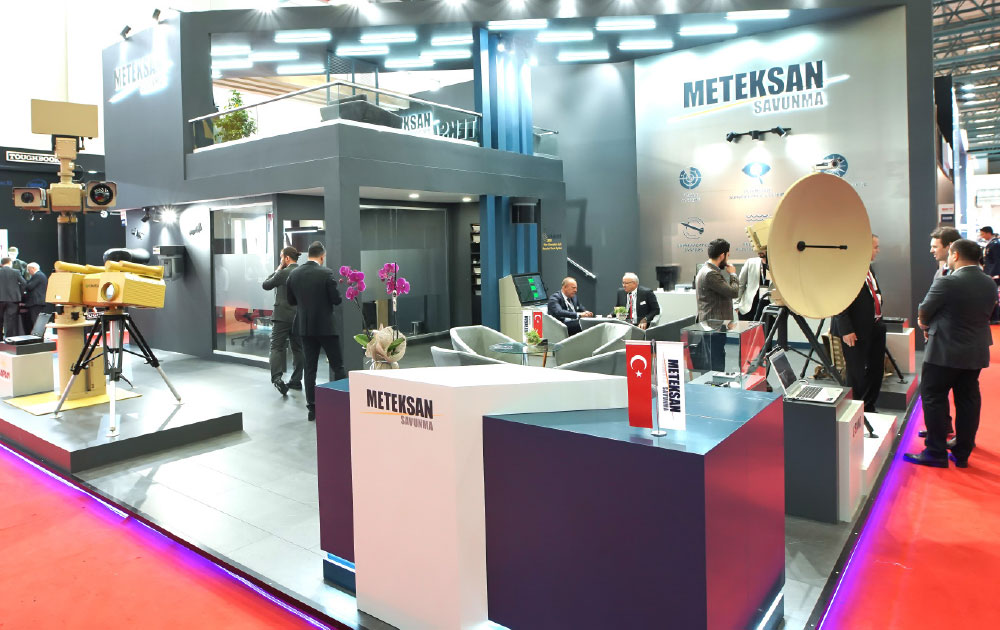 Meteksan Defence Exhibits Game Changing Solutions at IDEF 2019
