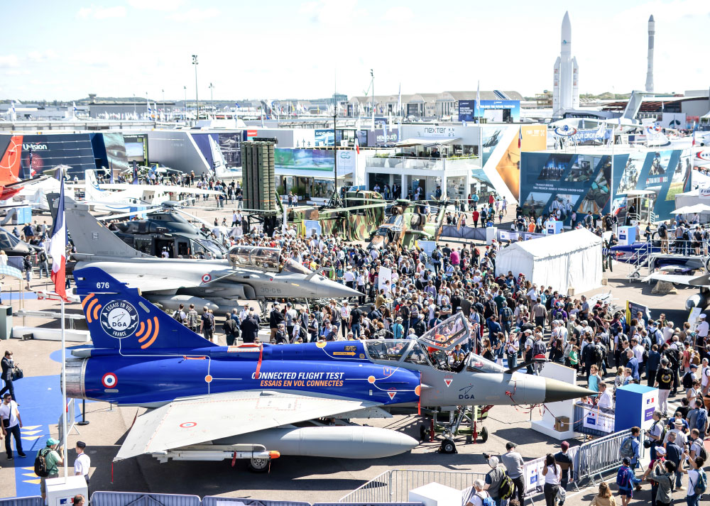 Seen and Heard at the International Paris Air Show 2019