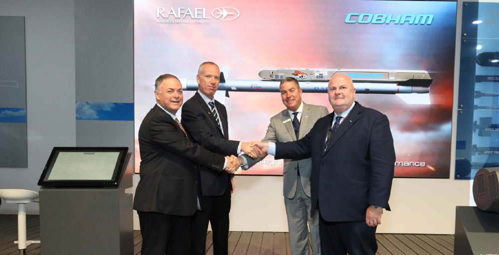 Cobham Mission Systems Have Agreed on a Joint Market Approach with Rafael and Diehl Combining Their Launchers with the Latest Missiles