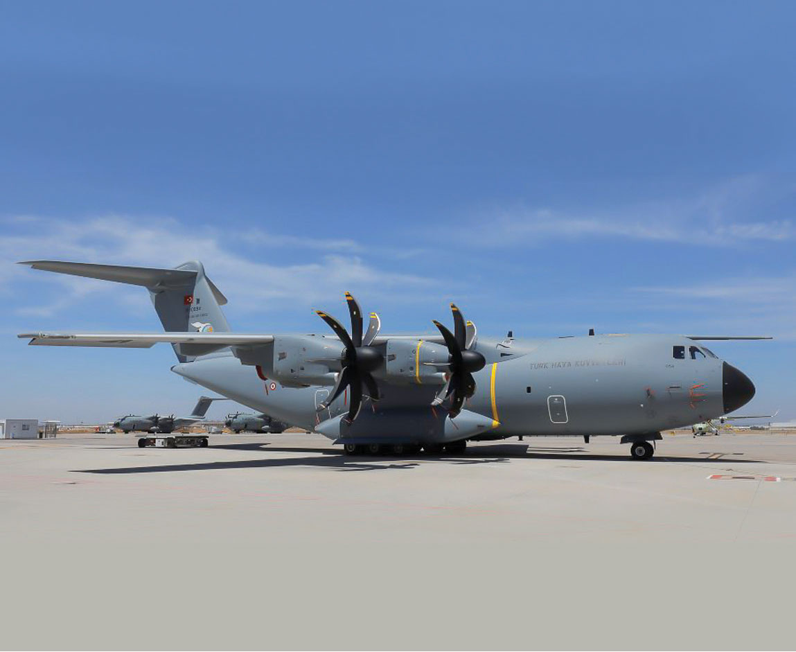 The 9th A400M Delivered to Turkish Armed Forces