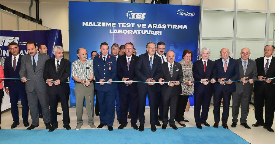 TEI Inaugurates Turkey's First NADCAP Accredited Material Testing and Research Laboratory