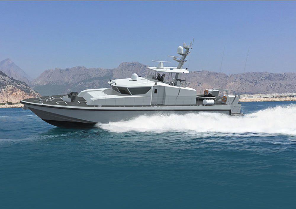 ARES Shipyard Launches the First Boat of the Oman Coast Guard Command