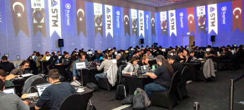 White Hackers Compete for the 'Capture The Flag'