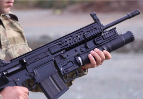 The First Unique Production Grenade Launchers Delivered to TAF