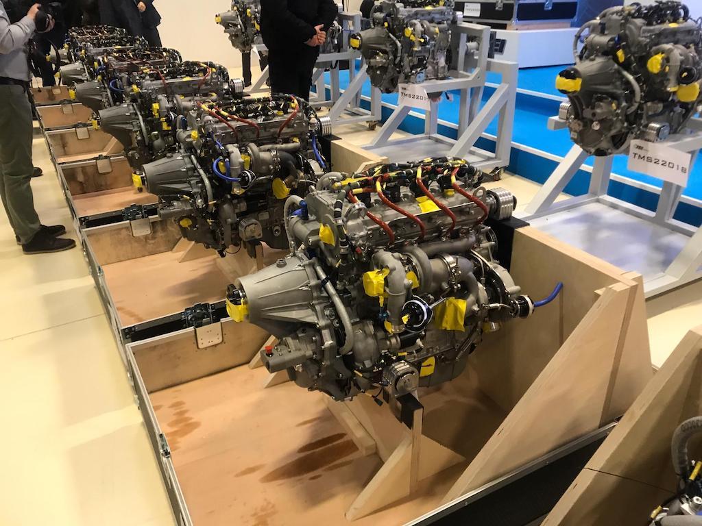 TEI-PD170 Turbodizel Havacılık Motoru Seri Üretim Teslim Töreni
