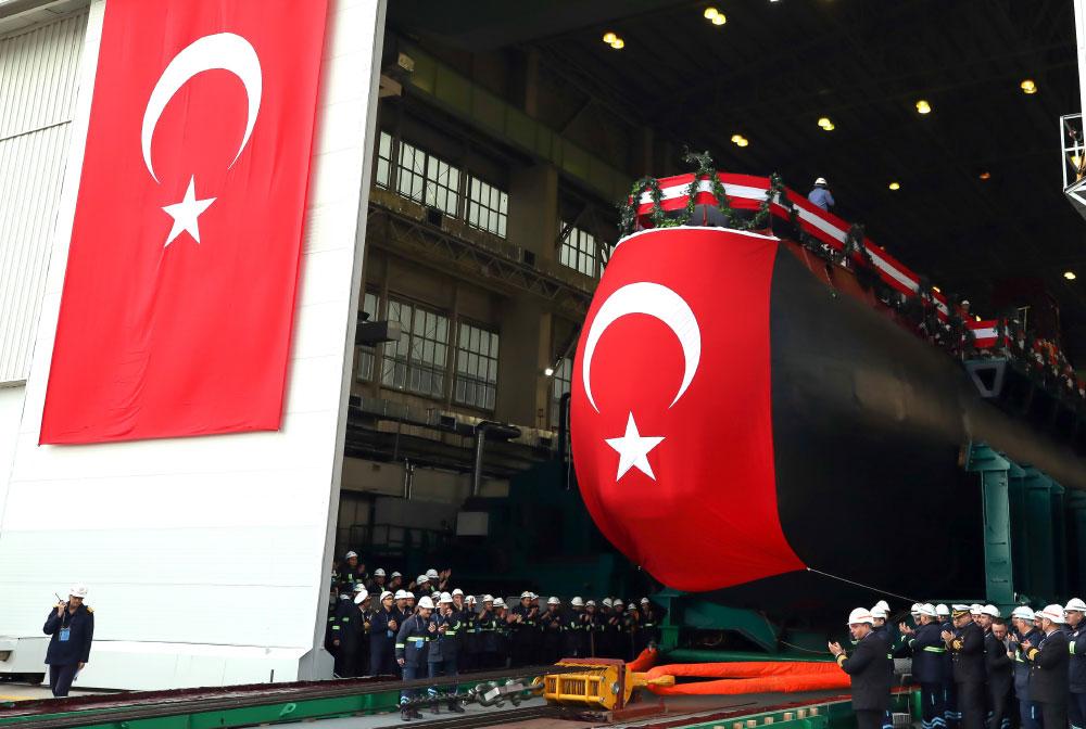 Type 214TN REIS Class TCG PİRİ REİS Submarine