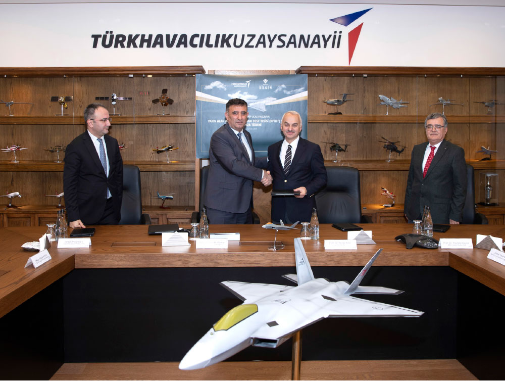 Turkish Aerospace and TÜBİTAK BİLGEM to Establish Radar Cross Section for National Combat Aircraft