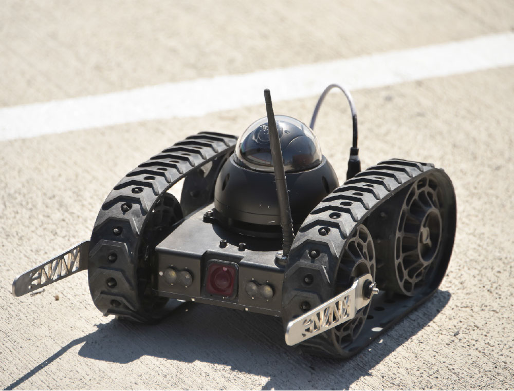 UGVs to Actively Assist Security Units in Theater