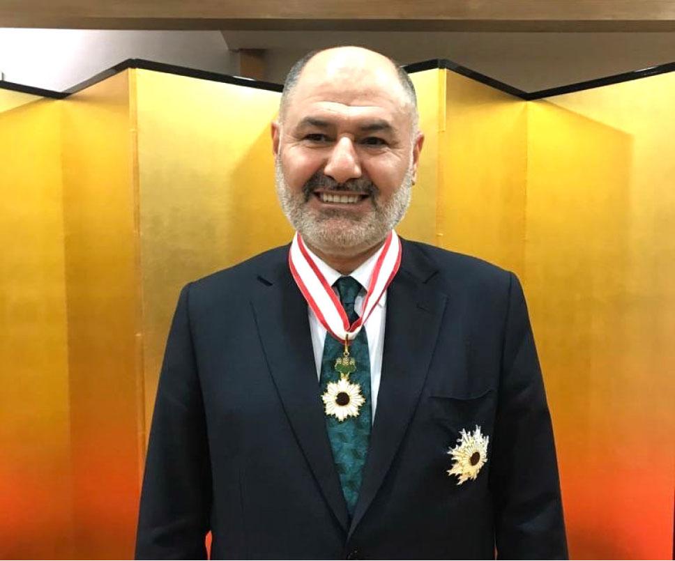 Turkish Deputy Minister of National Defence Alpaslan KAVAKLIOĞLU Awarded with