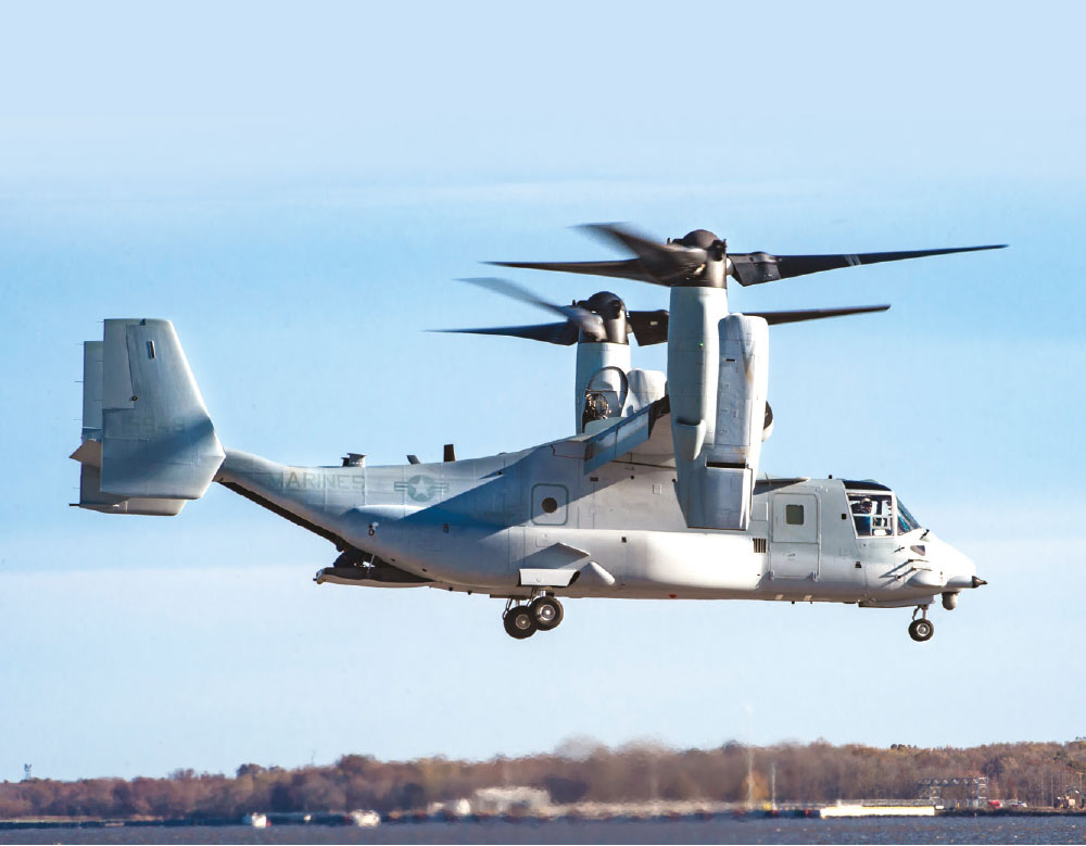 Bell Boeing Delivers the First Modified Osprey for Improved Fleet Readiness