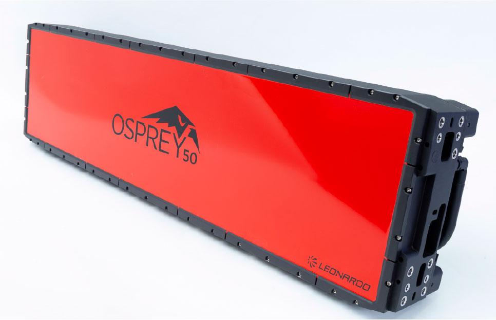 Leonardo's New, Larger Osprey 50 AESA Radar Takes Flight for First Trials