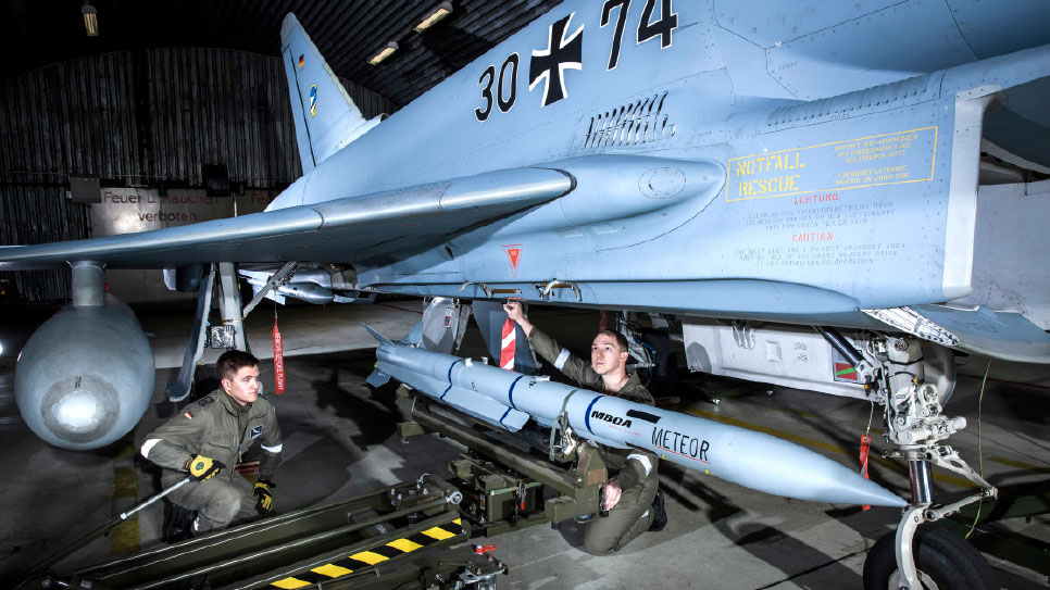 Germany Orders more Meteor Missiles