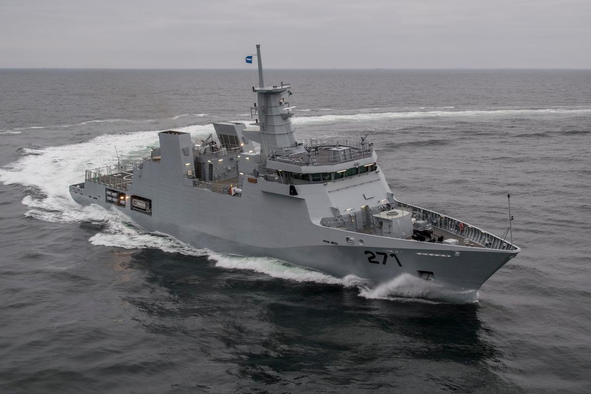Pakistan Deniz Kuvvetleri PNS YARMOOK`u Hizmete Aldı