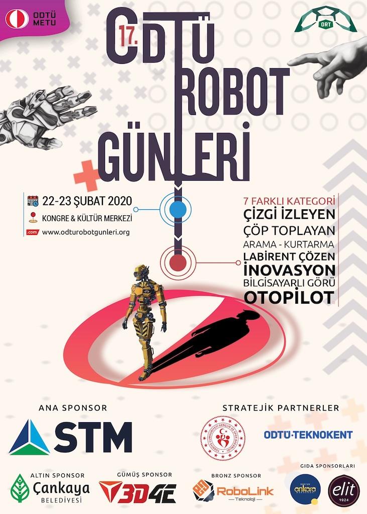 ODTÜ 17.  Uluslararası Robot Günleri Başlıyor
