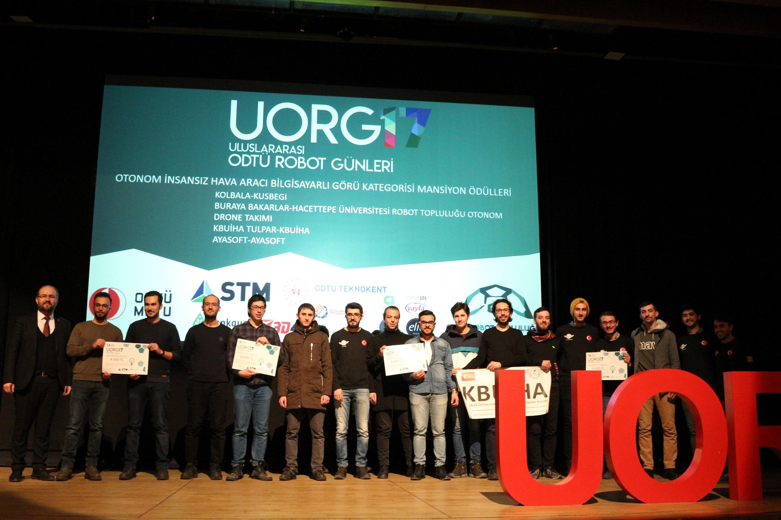 ODTÜ 17. Uluslararası Robot Günleri`nde Şampiyon Belli Oldu