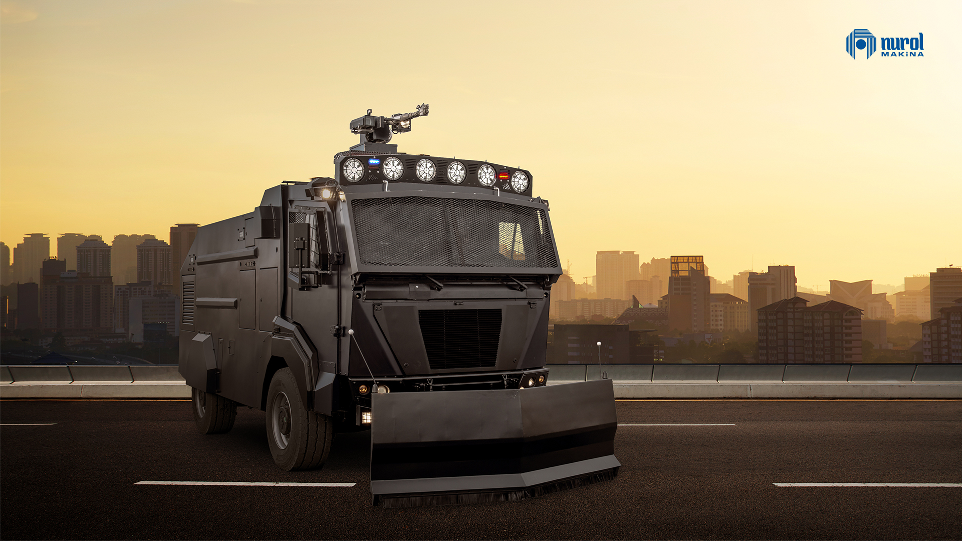 Nurol Makina Exports Ejder TOMA Anti-Riot Vehicles to Chile