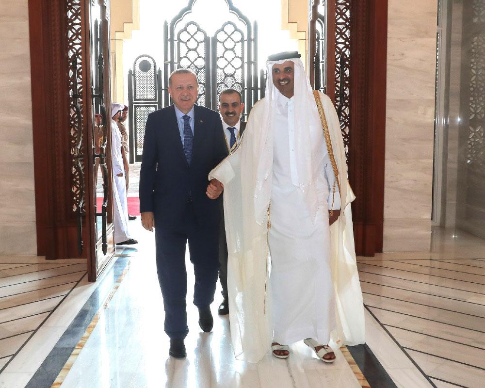Turkey & Qatar Foul-Weather Friends!