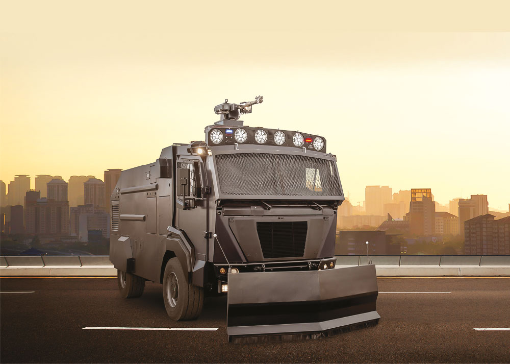 Nurol Makina Exports Ejder TOMA Riot Control Vehicles to Chile