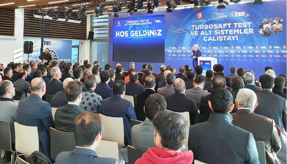 TS1400 Turboshaft Test and Subsystems Workshop Held in Eskişehir