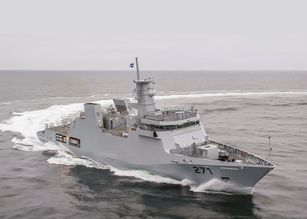PNS YARMOOK  Commissioning Ceremony of Offshore Patrol Vessel