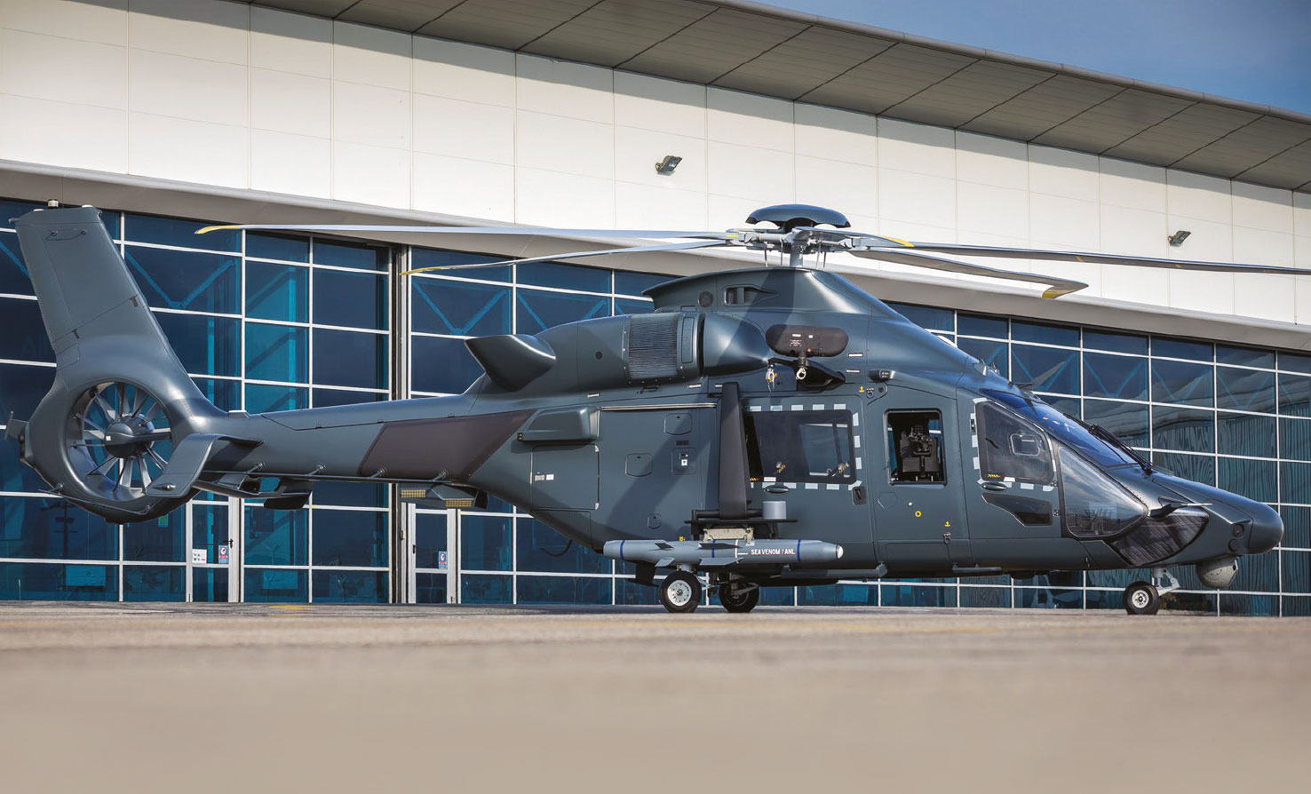 Airbus Helicopters Continues the Militarization of the H160 and its Support Framework