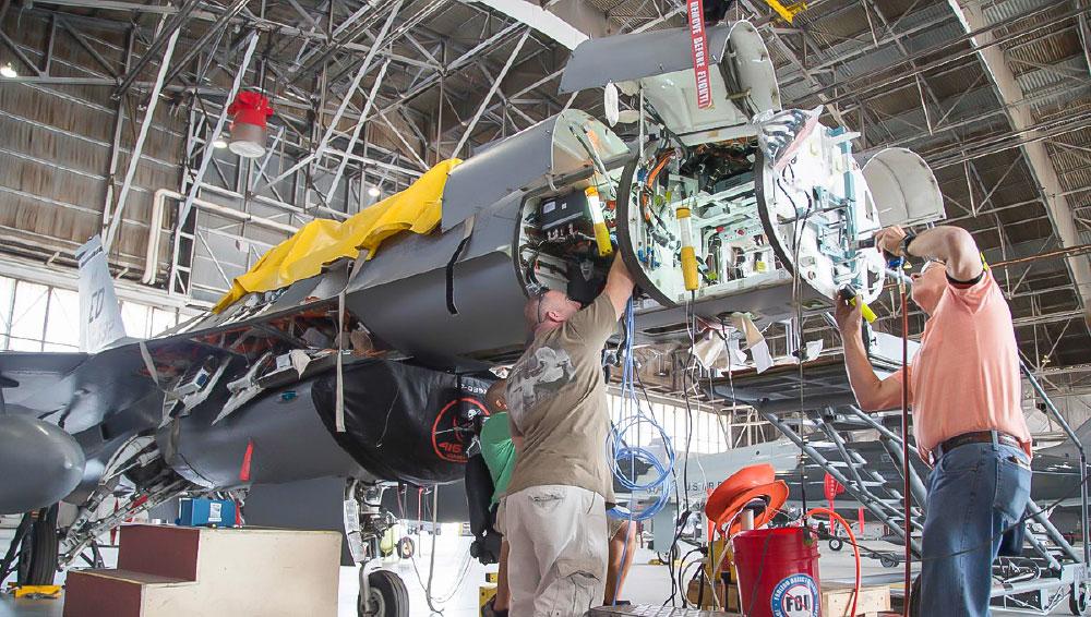 USAF Orders 105 AN/APG-83 SABR AESA Radars for its F-16s