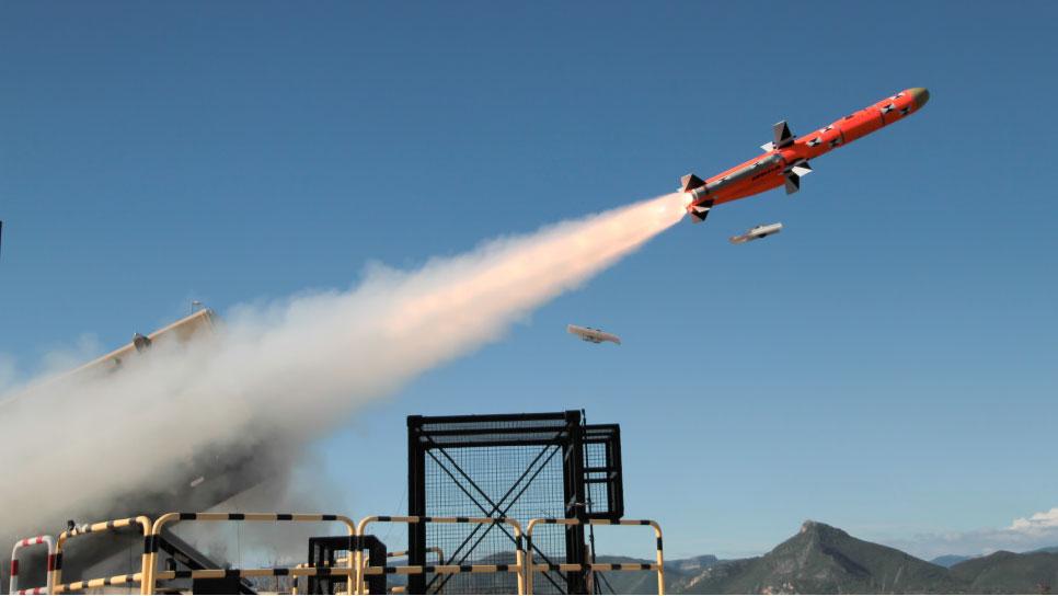 MBDA Completes Second Test Firing of MARTE ER Anti-Ship Missile
