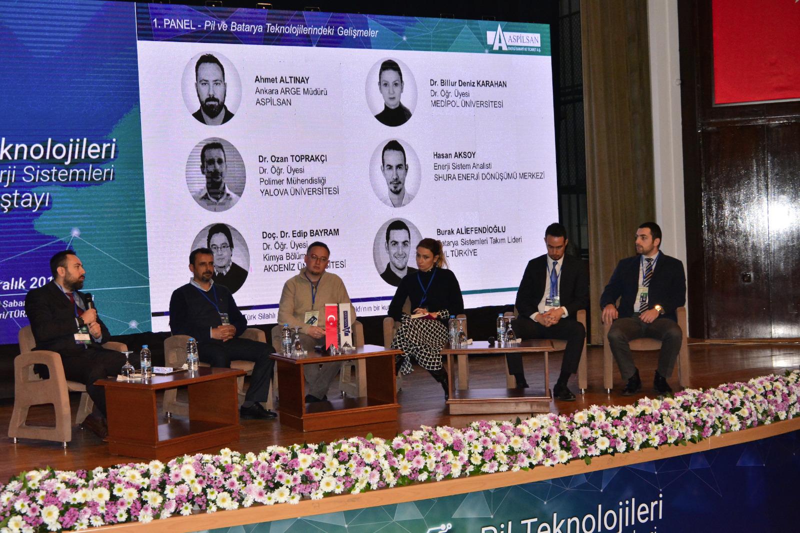 4'üncü Pil Teknolojileri ve Enerji Sistemleri Çalıştayı Panellerinden Notlar