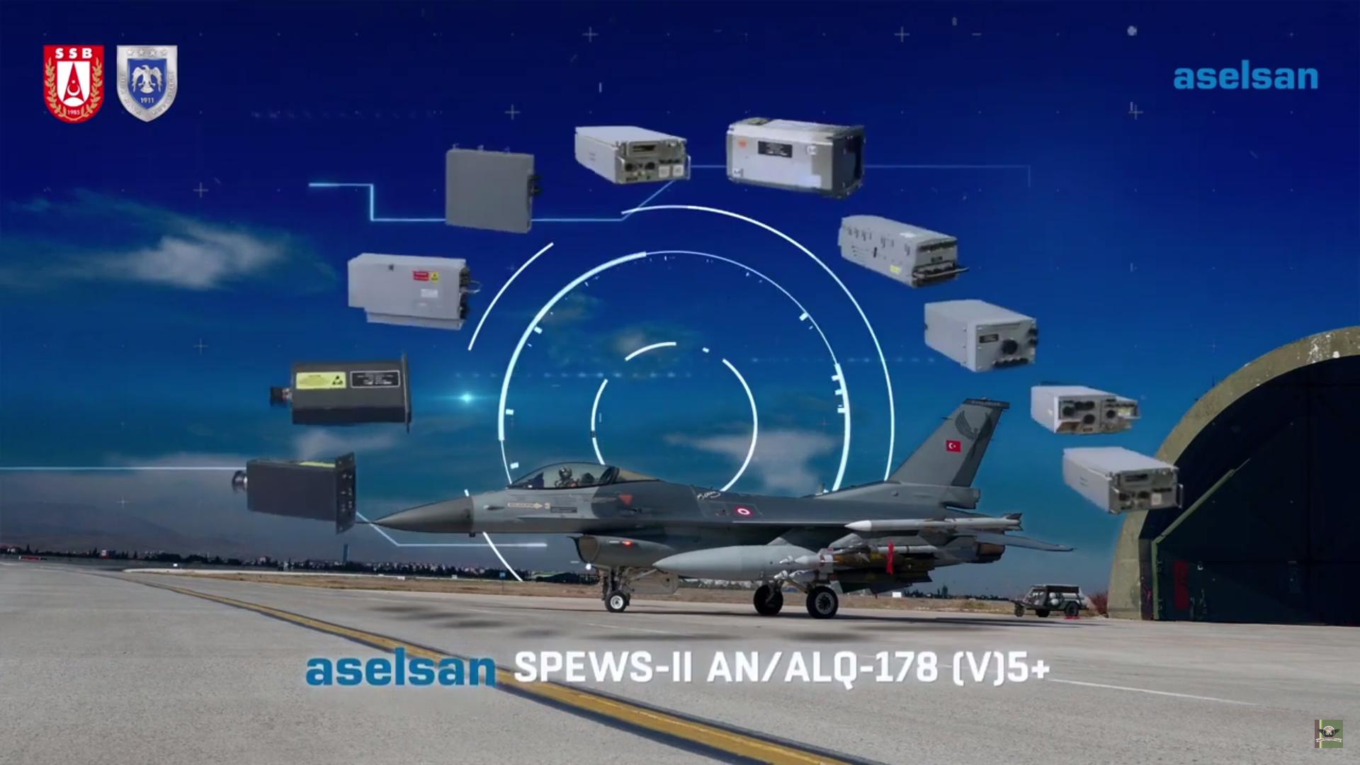 SPEWS-II AN/ALQ-178(V)5+ ve AIDEWS EH Öz Savunma Sistemleri