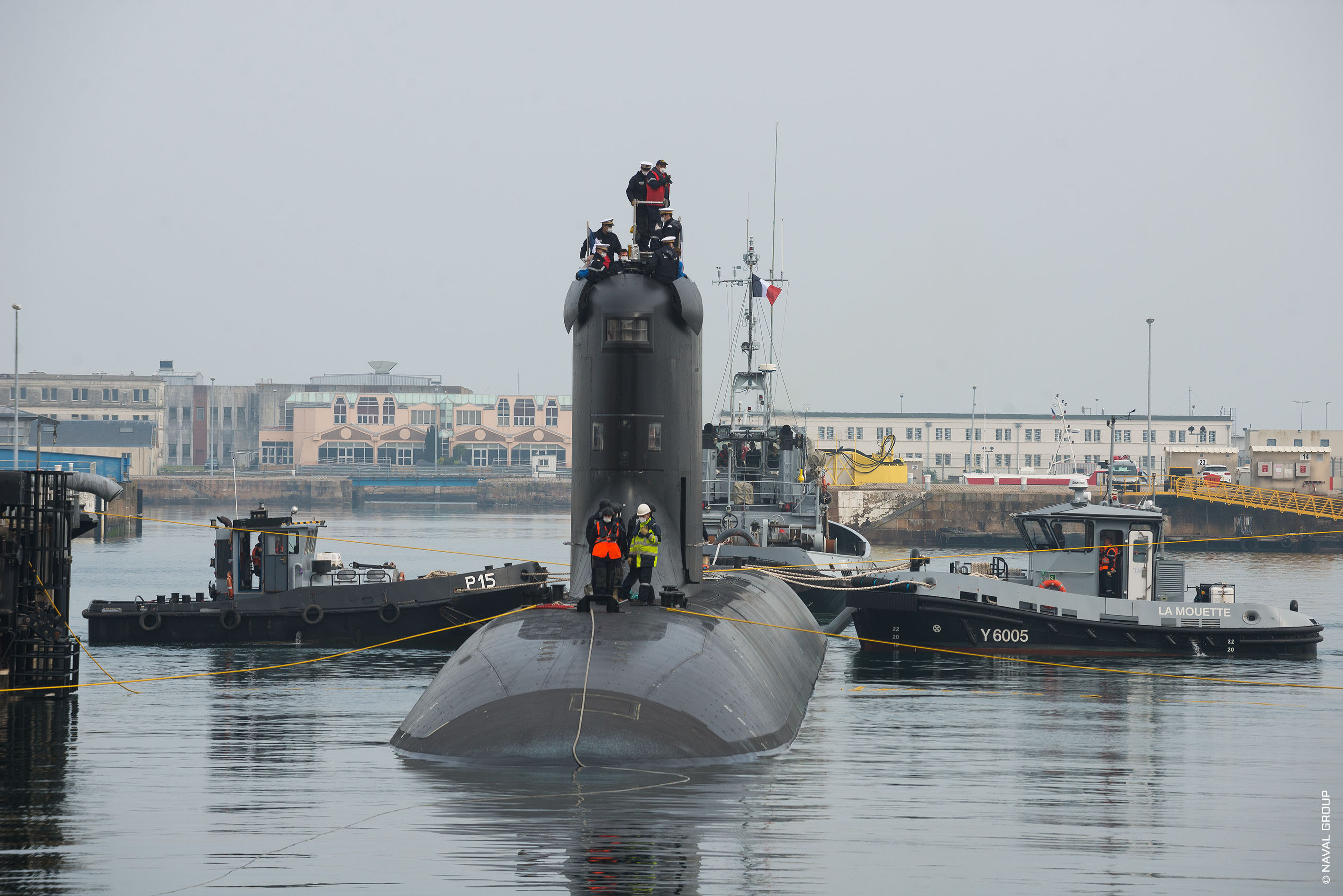 The SSN Suffren Starts its Sea Trials