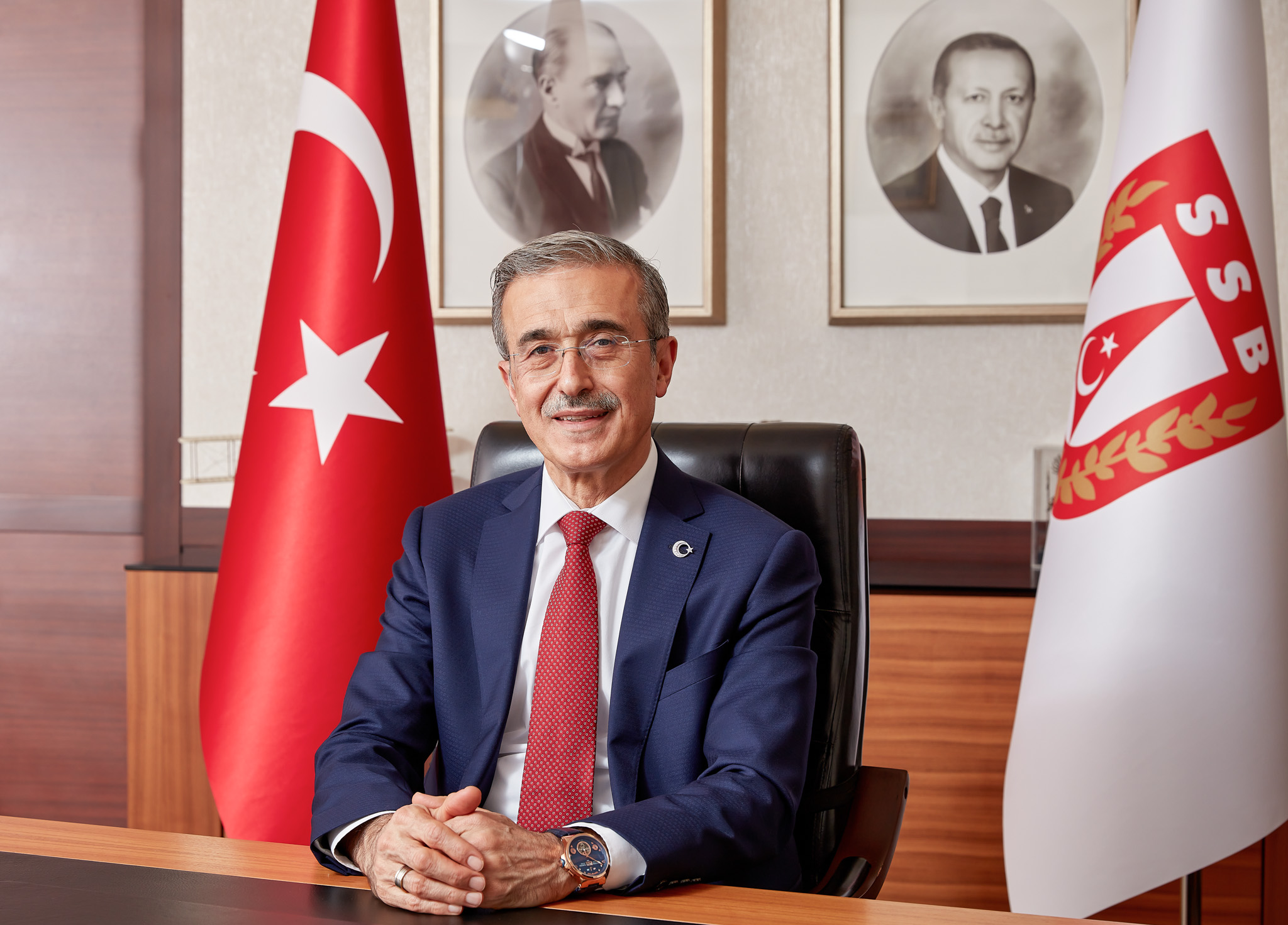 SSB President Prof. İsmail Demir Attended our Live Interview Broadcast Via Video Conference